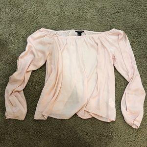 Forever 21 cut out blouse